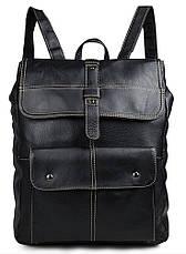 Рюкзак Vintage 14377 Чорний, Чорний, фото 3