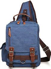 Рюкзак Vintage 14482 Синий, Синий, фото 2