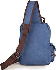Рюкзак Vintage 14482 Синий, Синий, фото 3