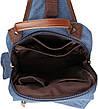 Рюкзак Vintage 14482 Синий, Синий, фото 5