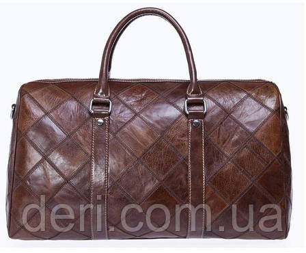 Дорожно-спортивная сумка Vintage 14752 Коричневая, Коричневый, фото 2
