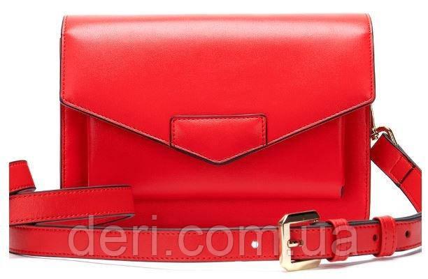 Жіночий клатч Vintage 14901 Червоний, Червоний
