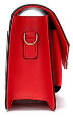 Жіночий клатч Vintage 14901 Червоний, Червоний, фото 3