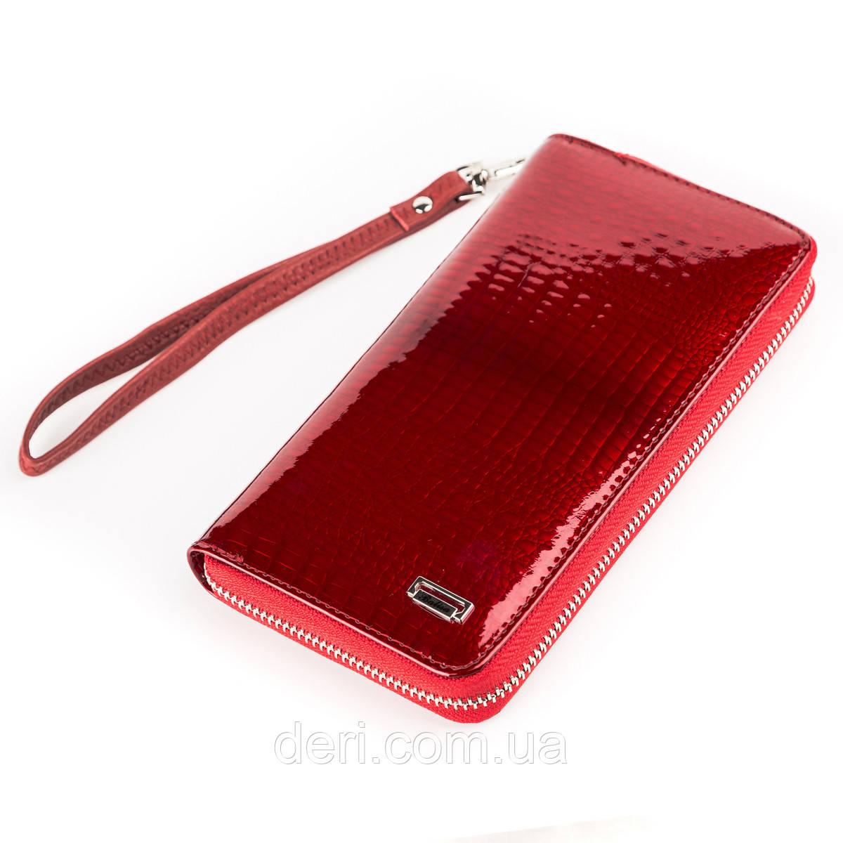 Кошелек-клатч женский BALISA 13866 кожаный Красный, Красный