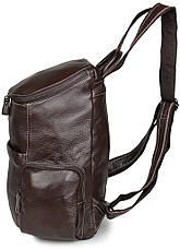 Рюкзак Vintage 14618 кожаный Коричневый, Коричневый, фото 3