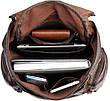 Рюкзак Vintage 14618 кожаный Коричневый, Коричневый, фото 5