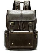 Рюкзак Vintage 14668 кожаный Коричневый, Коричневый