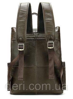 Рюкзак Vintage 14668 кожаный Коричневый, Коричневый, фото 2