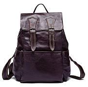 Рюкзак Vintage 14714 кожаный Сливовый, Бордовый