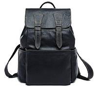 Рюкзак Vintage 14842 кожаный Черный, Черный