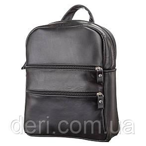 Рюкзак женский SHVIGEL 15304 кожаный Черный, Черный, фото 2