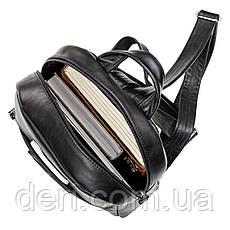 Рюкзак женский SHVIGEL 15304 кожаный Черный, Черный, фото 3