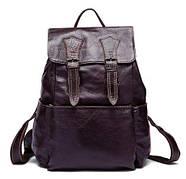 Рюкзак из натуральной кожи Vintage 14874 Серо-коричневый, Коричневый