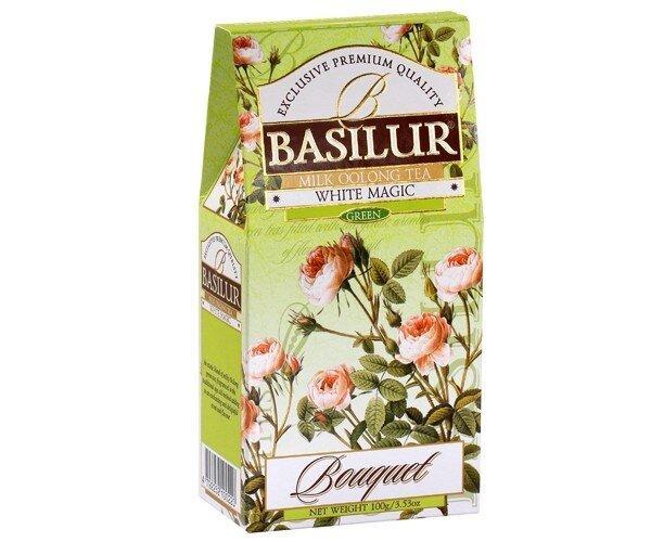 Чай Улун Basilur Белое волшебство картон 100 г