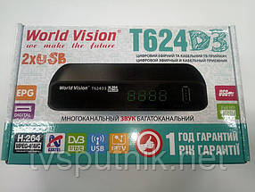 Ефірний тюнер World Vision T63 (DVB-T2)