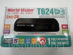 Эфирный тюнер World Vision T624D3 (DVB-T2)
