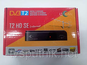 Ефірний тюнер Uclan T2 HD SE Internet (DVB-T2 +Youtube IPTV)