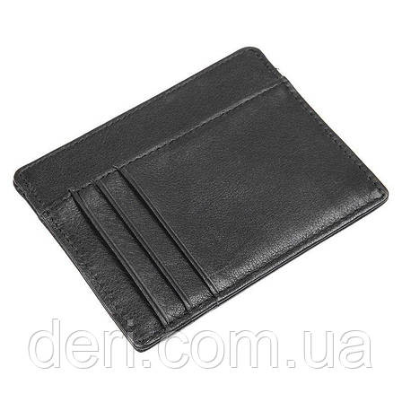 Кредитница вкладиш 14960 Vintage Чорна, Чорний, фото 2