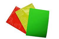 Цветная самоклеящаяся бумага SAPRO А-4( 100листов)