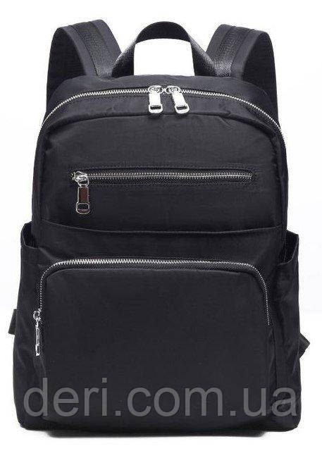 Рюкзак нейлоновый Vintage 14808 Черный, Черный