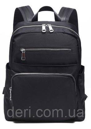 Рюкзак нейлоновый Vintage 14808 Черный, Черный, фото 2
