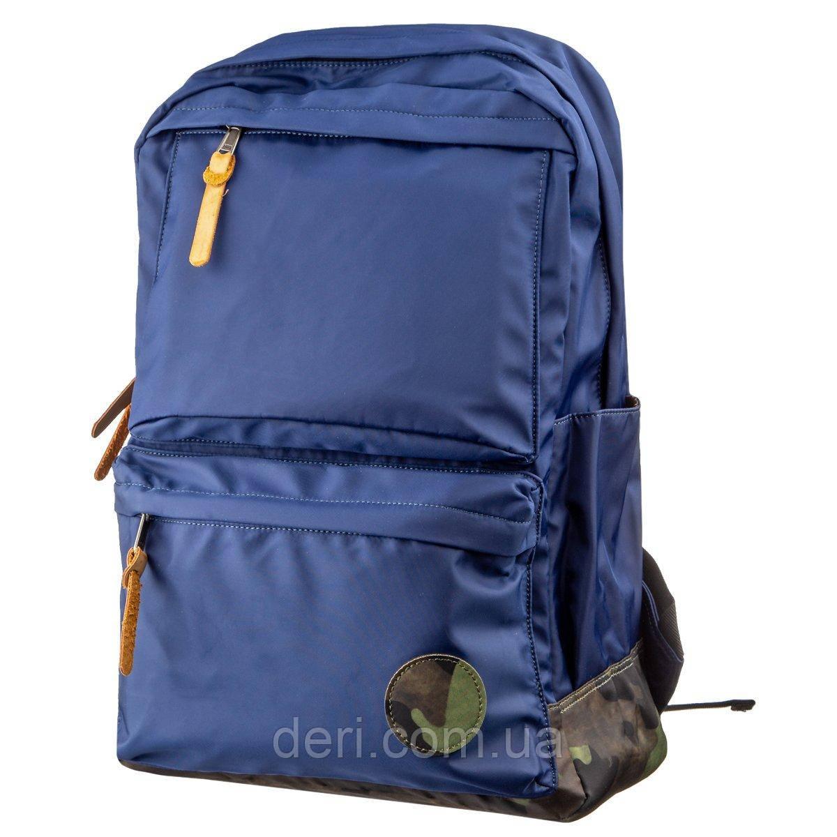 Рюкзак нейлоновый Vintage 14821 Синий, Синий