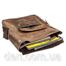 Рюкзак с эффектом старины SHVIGEL13947 Коричневый, Коричневый, фото 2