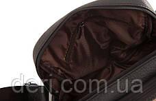 Мессенджер мужской Vintage 14636 кожаный Черный, Черный, фото 2