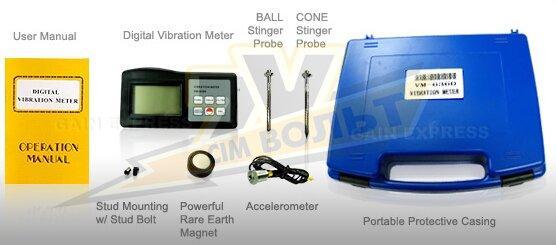 Програмне забезпечення для віброметра WALCOM VM-6360 ЗА+USB