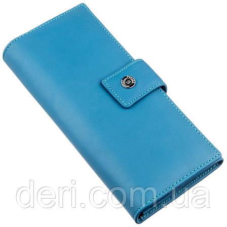 Дивовижний жіночий гаманець блакитний, фото 2