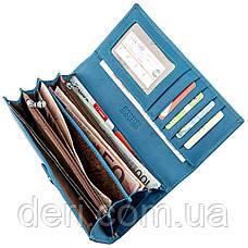 Дивовижний жіночий гаманець блакитний, фото 3