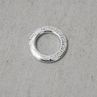 Люверсы афины серебро хром 35мм
