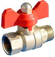 """Шаровый клапан Aquafilter F10SV-2, 3/8"""" РН х 3/8"""" РВ"""