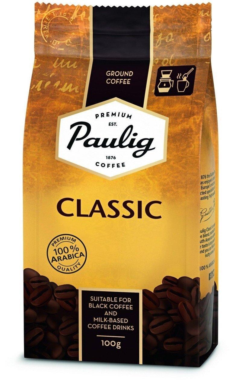 Кава мелена Paulig Classic 100гр