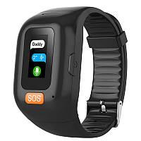 Смарт часы c GPS для детей и пожилых людей ZGPAX SH1000 с кнопкой SOS, микрофоном, тонометром, шагомером и - -
