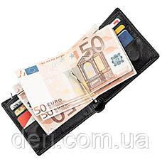 Чоловіче портмоне з затиском і монетницею, фото 3