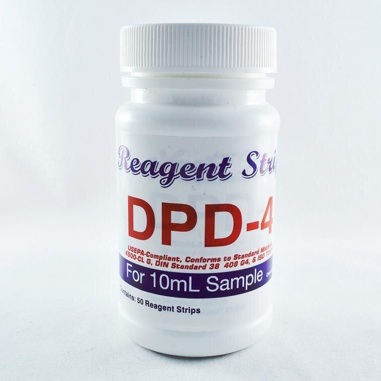 Тести на хлор DPD-4 для FTC-420