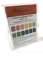Індикаторні смужки універсальні на pH 1-14 JTP Універсальний Indicator Paper (200 шт.)