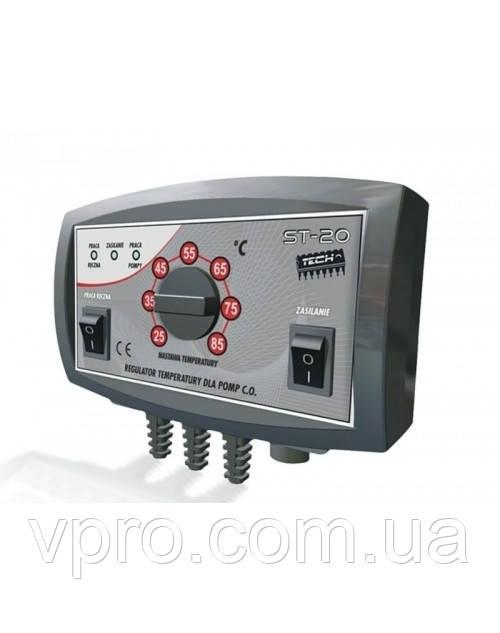 Регулятор температуры Tech ST-20 для насоса ЦО