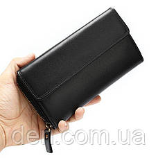 Клатч-барсетка Vintage 20045 Черный, Черный, фото 2