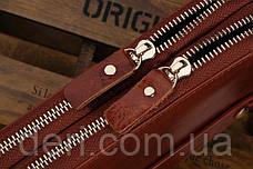 Чоловічий клатч Vintage 14195 Коричневий, фото 3