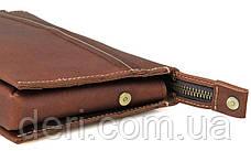 Чоловічий клатч Vintage 14423 Коричневий, Коричневий, фото 3