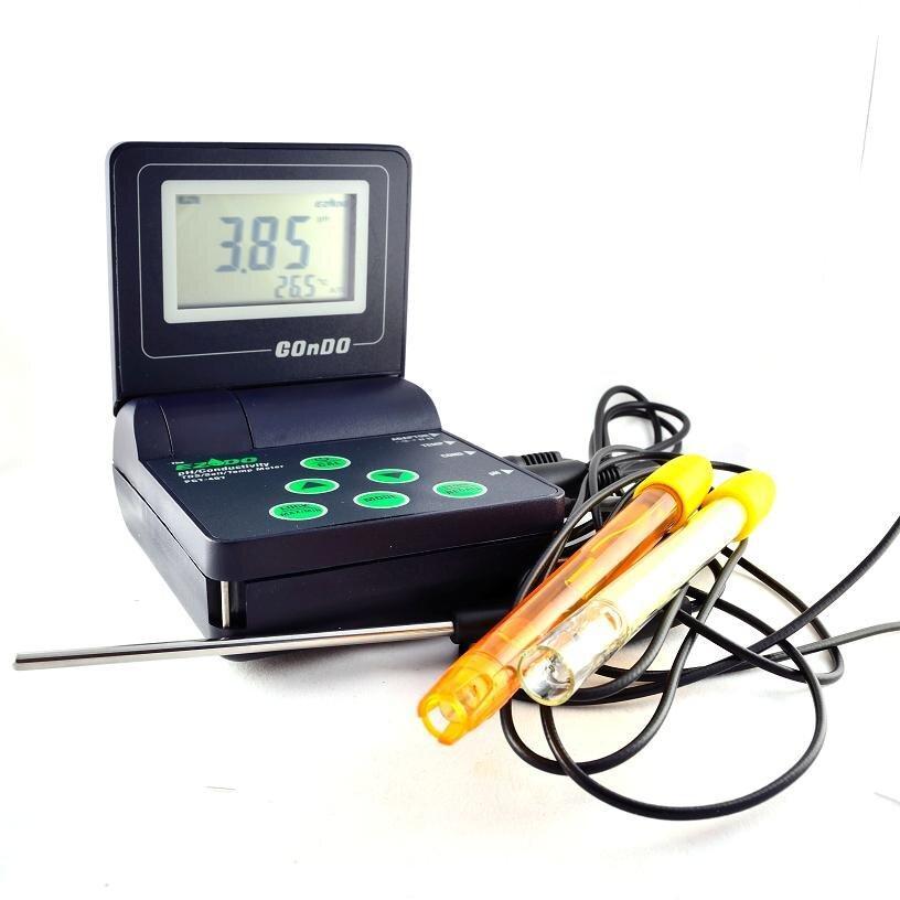 Мультифункціональний прилад EZODO РСТ-407 для аналізу параметрів води