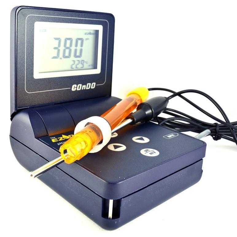 РН-метр EZODO PP-203 з виносним електродом та термодатчиком