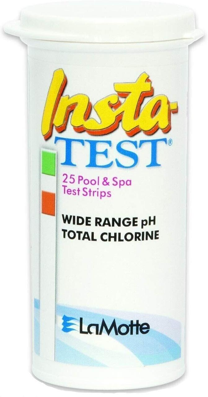 Тестові смужки на pH і загальний хлор LaMotte INSTA-TEST WRPH/TCL (25 шт.)