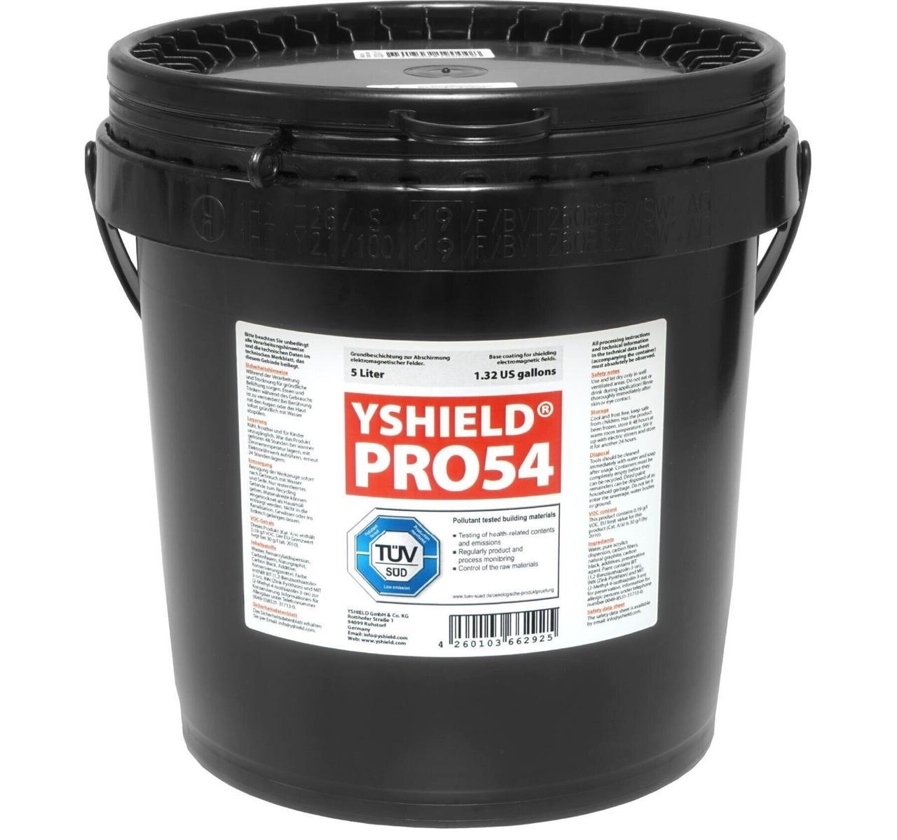 Екрануюча фарба YSHIELD PRO54-5 (ВЧ, НЧ, 5 л)