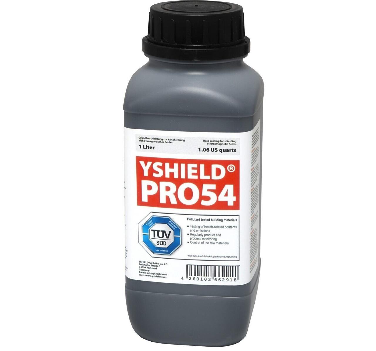 Екрануюча фарба YSHIELD PRO54 (ВЧ, НЧ, 1 л)