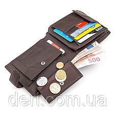 Мужской кошелек надежный горизонтальный, фото 3