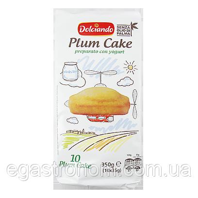 Печиво-бісквіт Дольчіандо з йогуртом Dolciando Plum Cake 350g 9шт/ящ (Код : 00-00005555)
