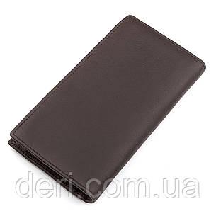 Мужской купюрник функциональный коричневый, фото 2